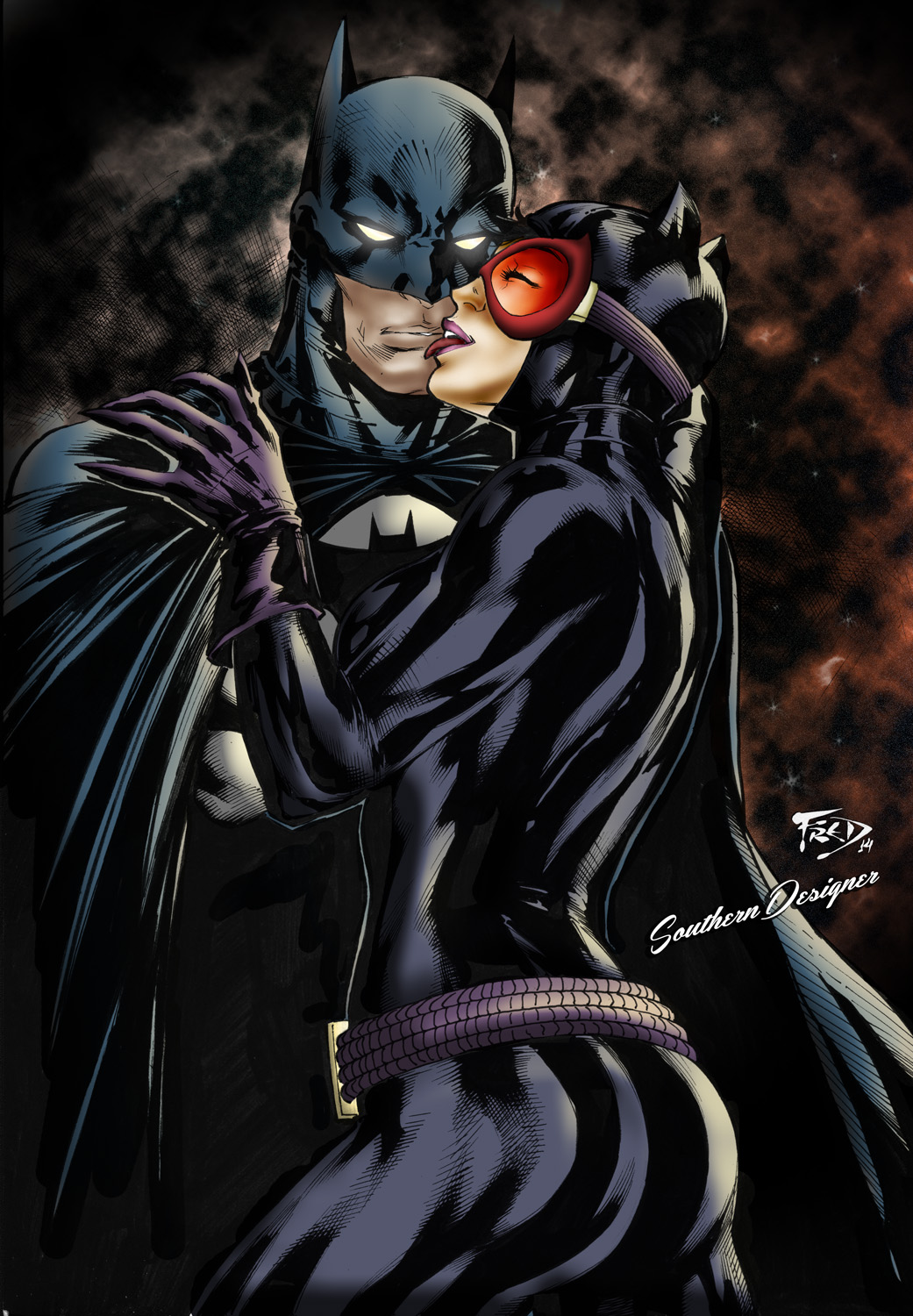 Bat and the Cat by SouthernDesigner