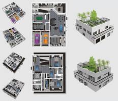 Beautiful Home - 3D Render