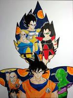 Dragon Ball Z Season 1: The saiyans by Latchunga