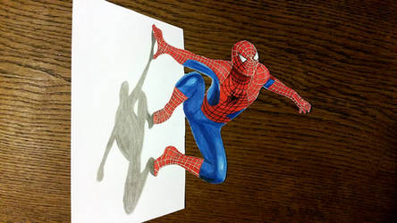 Spiderman 3D by Latchunga