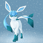 Glaceon in the Snow