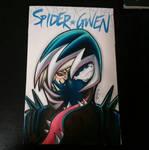 Gwenom Sketch Cover