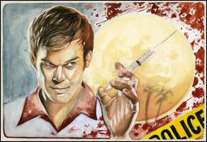 Darkly Dreaming Dexter. by tberardi