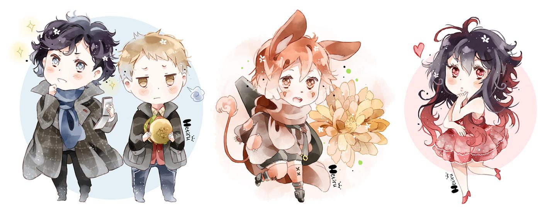 .Sherlock.Orange.Reira. by Hetiru