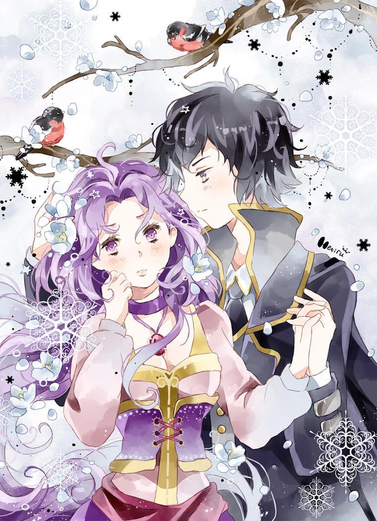 .CC. Love and snowflakes. by Hetiru