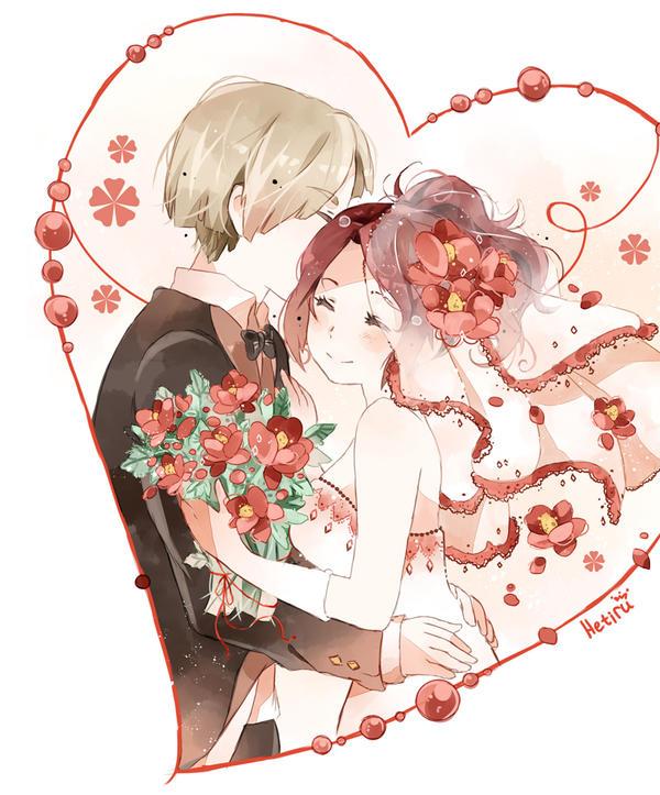 .CC. Wedding in red. by Hetiru