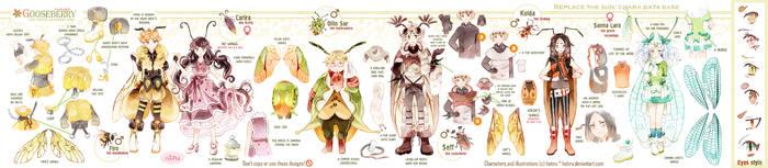.GOOSEBERRY's additional characters' ref. by Hetiru