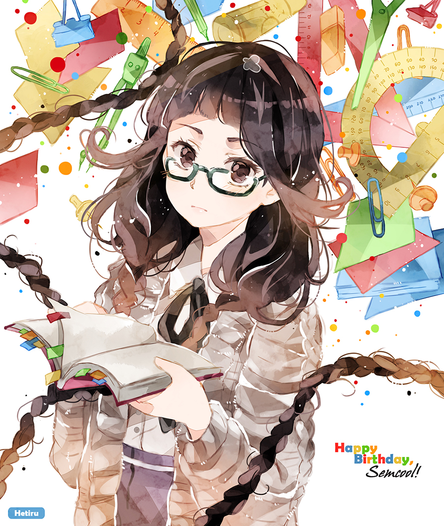 .Stationery girl. by Hetiru