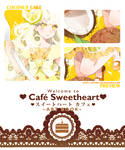 .PREVIEW: Cafe Sweetheart Artbook.