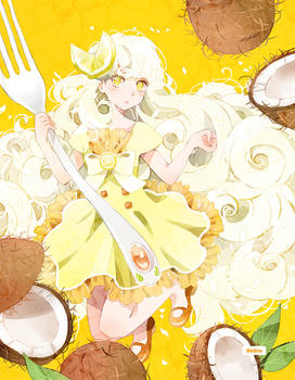 .Coconut Cake.