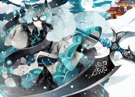 .CC.Winter Warrior. by Hetiru