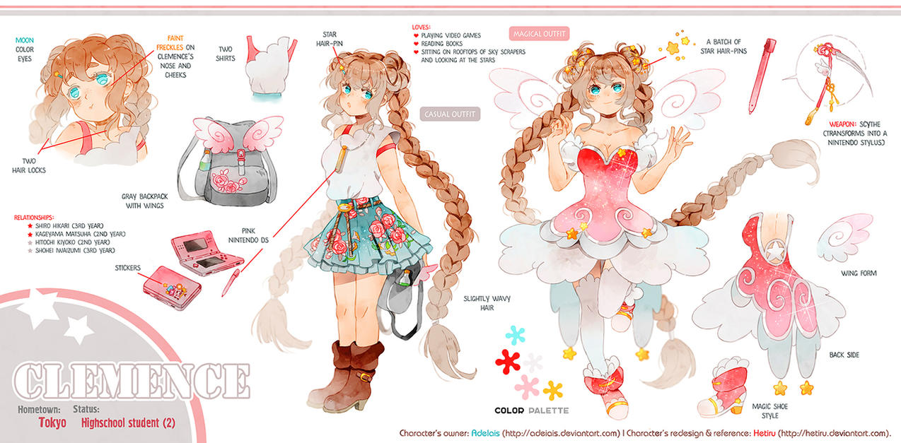 .Commission REFERENCE: Clemence. by Hetiru