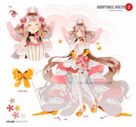 Adoptable auction: KOTOKO the angel bunny [CLOSED]