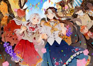 .CC. The Parasol Festival. by Hetiru