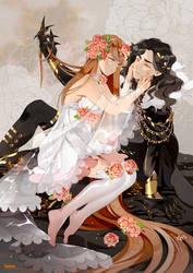 .CC. Hades and Persephone. by Hetiru