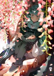 .CC. Weeping willow. by Hetiru
