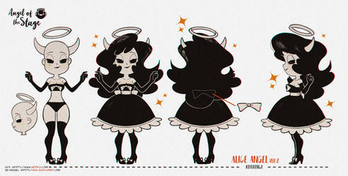 .Reference for 3D-model of Alice Angel.