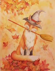 Autumn Fox by Elli88