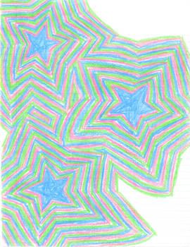 Crayon Star Madness