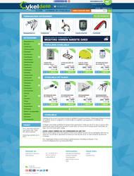 Webshop - Cykeldele.dk (Bike parts) by PageDesign