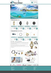 Webshop - BuyTime by PageDesign