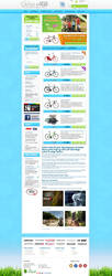 Webshop - OutletCykler (Bikes) by PageDesign