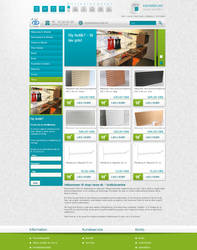 Webshop - Shop-store by PageDesign