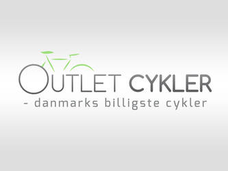 Logodesign - OutletCykler by PageDesign