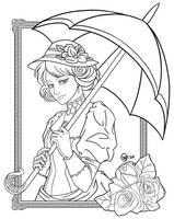 Victorian Lady by raposavyk