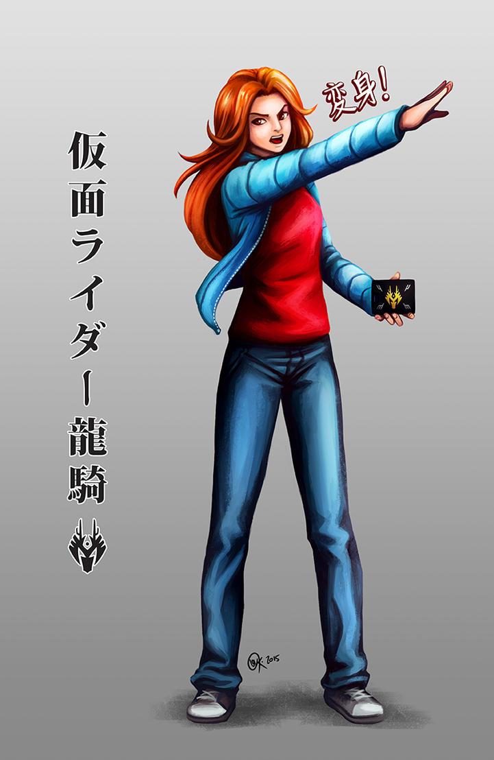 Female Kamen Rider Ryuki By Raposavyk On DeviantArt