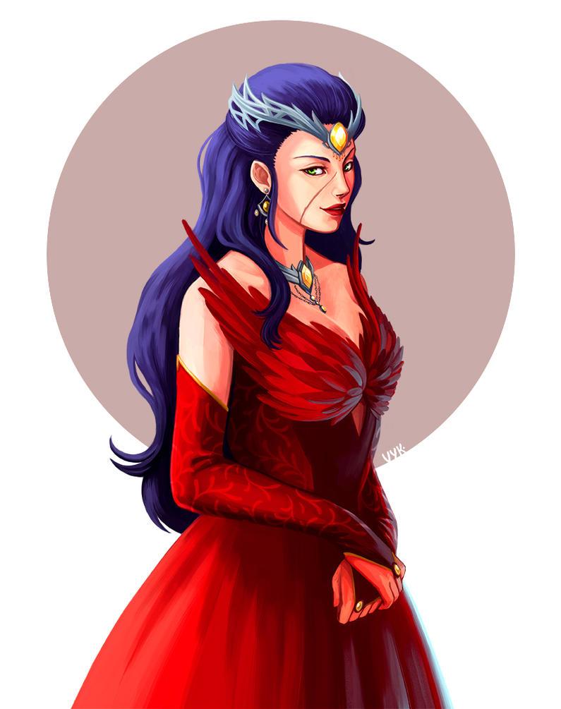 Commission: Lady Breanne by raposavyk
