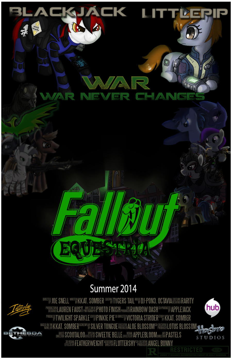 Fallout Equestria Crossovers Fimfiction Net