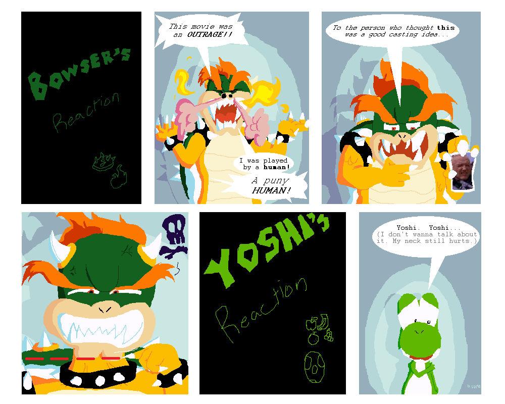 Super Mario Bros Movie Reactions Part 3 By Bulgariansumo On