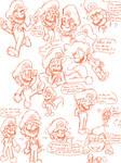 Mario Doodles
