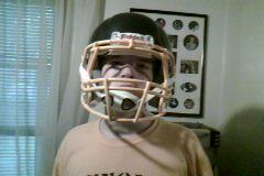 Me and My Football Helmet by Jae500