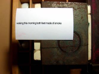 FEET OF SMOKE by MisterCr3w