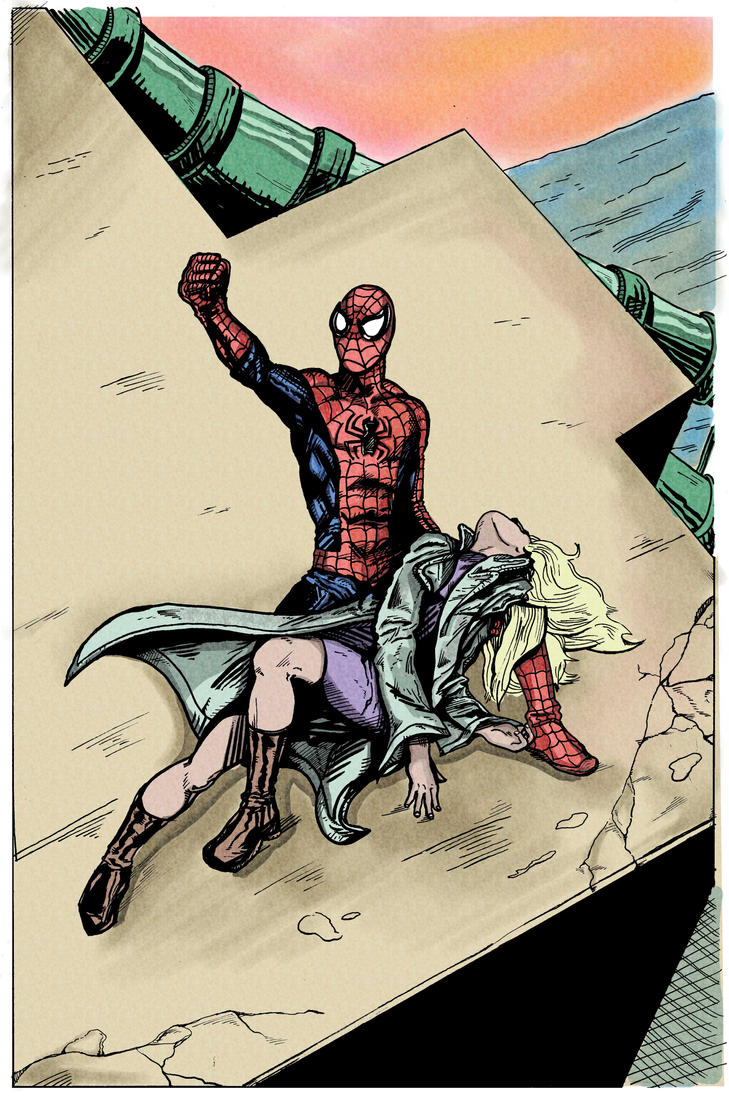 Death Of Gwen Stacy by theDANEtrain - 202.4KB