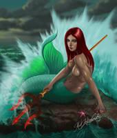 Mermaid by digitalmakoy