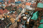 Roofs of an Old Strasbourg