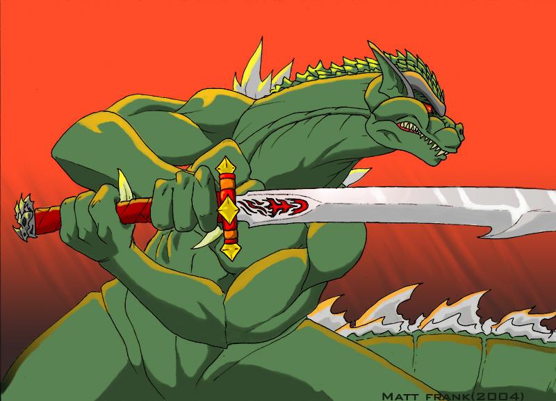 http://fc00.deviantart.net/fs37/f/2008/244/c/5/Godzilla_The_Samurai_by_KaijuSamurai.jpg