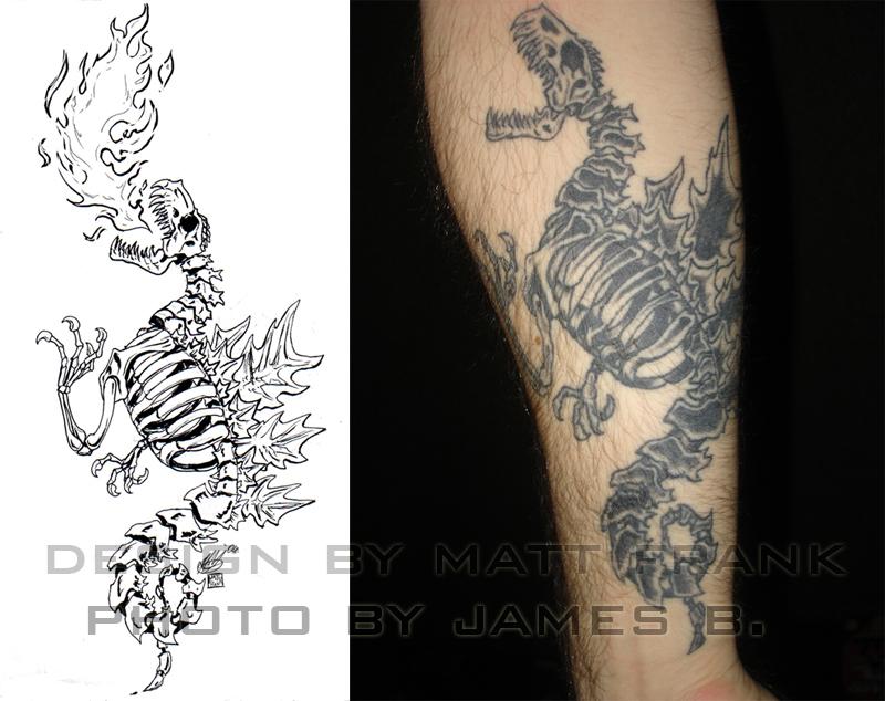 godzilla tatoo design by kaijusamurai on deviantart. Black Bedroom Furniture Sets. Home Design Ideas