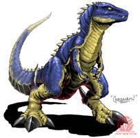 Godzilla Neo - GOROSAURUS by KaijuSamurai