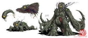 Godzilla Neo - HEDORAH by KaijuSamurai