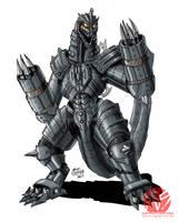 Godzilla Neo - MECHAGODZILLA by KaijuSamurai
