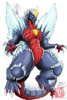 Godzilla Neo - SPACE GODZILLA by KaijuSamurai