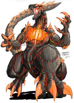 Godzilla Neo- BURNING GODZILLA