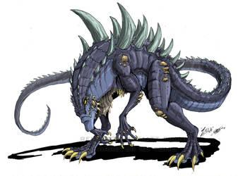 Godzilla Neo - ZILLA by KaijuSamurai