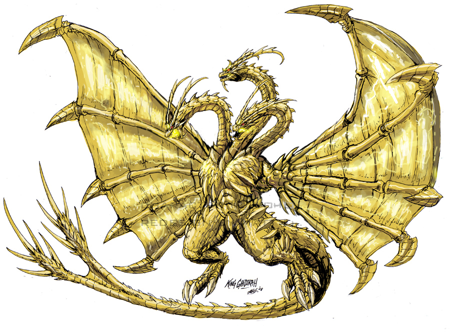 1000+ images about King Ghidorah on Pinterest
