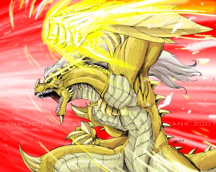 Saurios original character by KaijuSamurai