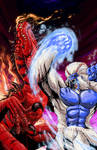Primal Rage BLIZZARD VS DIABLO